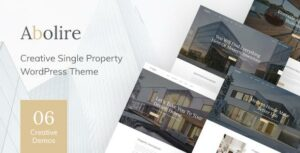 Abolire – Single Property WordPress Theme