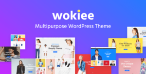 Wokiee – Multipurpose WooCommerce WordPress Theme