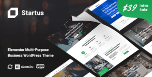 Startus – Multipurpose Business WordPress Elementor Theme