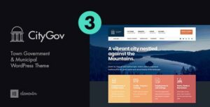 CityGov – City Government & Municipal Elementor WordPress Theme