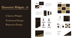 Elementor Widgets – iii – Professional and Unique Section Design Widgets