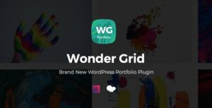 Wonder Grid – WordPress Elementor Portfolio Plugin