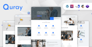 Quray – Business Consulting WordPress Elementor Theme