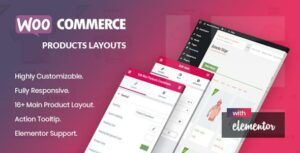 Noo Products Layouts – WooCommerce Addon for Elementor Page Builder