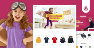 Uneno – Kids Clothing & Toys Store WooCommerce Elementor Theme