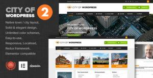 City of WP – Municipal & Local Government Theme