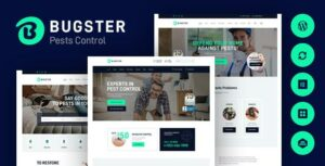 Bugster – Bugs & Pest Control WordPress Elementor Theme for Home Services