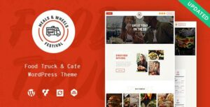 Meals & Wheels – Street Festival & Fast Food Delivery WordPress Elementor Theme