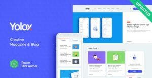 Yolox – Business & Startup Modern WordPress Elementor Theme