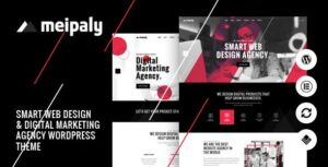 Meipaly – Digital Services Agency WordPress Elementor Theme