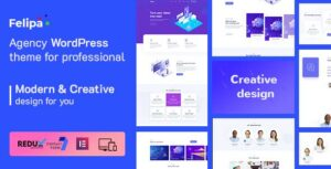 Felipa – Agency WordPress Elementor Theme