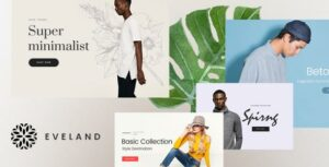 Eveland – Modern AJAX enabled WooCommerce WordPress Elementor theme