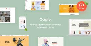 Capie – Minimal Creative WooCommerce WordPress Theme