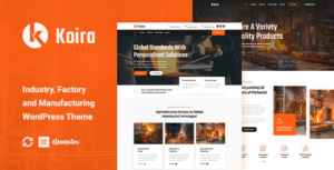 Koira – Industry and Manufacturing WordPress Elementor Theme