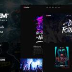 Dugem – Dance Night Club WordPress Elementor Theme