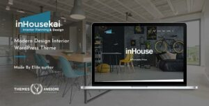Inhousekai – Modern Design Interior WordPress Elementor Theme