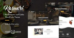 Kasuari – Restaurants and Cafes WordPress Elementor Theme