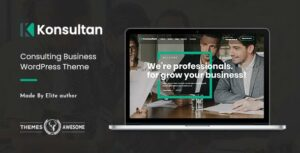 Konsultan – Consulting Business WordPress Elementor Theme