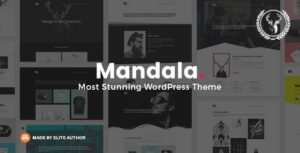 Mandala – Portfolio WordPress Theme Multi-Concept