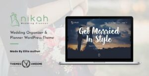 Nikah – Wedding Organizer & Planner WordPress Elementor theme