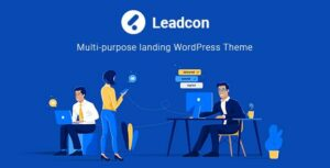Leadcon –  Multipurpose Landing Elementor WordPress Theme