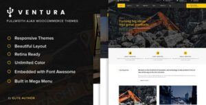 Ventura – Industrial WordPress Elementor Theme