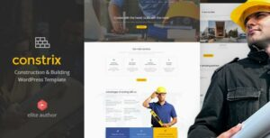 Constrix – Construction & Building Elementor WordPress Theme