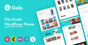 Golo – City Travel Guide WordPress Theme