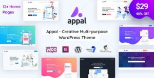 Appal – Creative Multi-purpose Elementor WordPress Theme