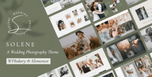 Solene – Wedding Photography Theme