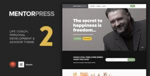 MentorPress – Life Coach & Advisor WordPress theme