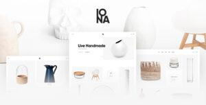 Iona – Handmade & Crafts Shop WordPress Theme