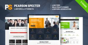 Read more about the article Pearson Specter | WordPress Theme for Lawyer & Attorney