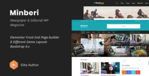 Minberi – Newspaper & Editorial WordPress Theme