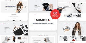 VG Mimosa – Modern Fashion WooCommerce WordPress Theme