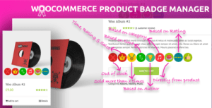 WooCommerce Product Badge Manager