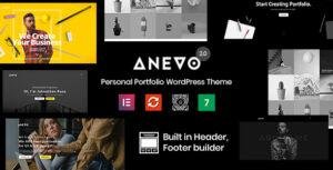 Anevo – Personal Portfolio WordPress Theme