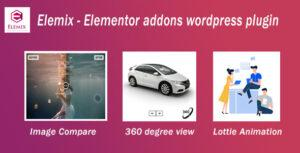 Elemix – Elementor addons wordpress plugin