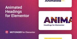 Motionger – Animated Heading for Elementor