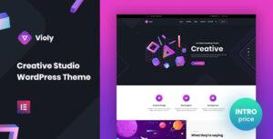 Violy – Creative Studio WordPress Theme