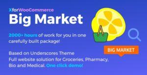 Read more about the article Big Market for WooCommerce and WordPress  – Full website solution!