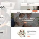 Djompo | Senior Care WordPress Theme