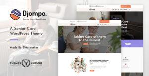 Read more about the article Djompo | Senior Care WordPress Theme