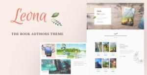 Leona – WordPress Theme for Book Writers and Authors