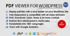 PDF viewer for WordPress
