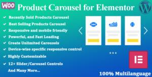 Read more about the article Product Carousel for Elementor