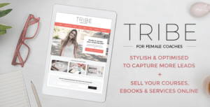 Tribe – Feminine Coach WordPress Theme