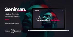 Seniman | Modern Portfolio WordPress Theme
