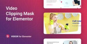 Videor – Video Clipping Mask for Elementor