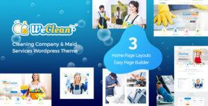 We Clean – Cleaning Services Theme
